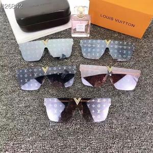 En çok satan tarzı L0926 pilotların çerçevesiz çerçeve deri bacaklar en kaliteli tasarımcı marka anti-UV koruması Sürücü sunglasses