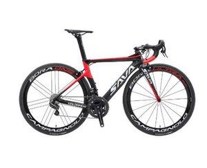 SAVA bici del camino que compite con fibra de carbono bicicleta de carretera con Campagnolo Record EPS eléctrica engranaje Shiftting Velocidades 7.4kg bicicleta de carretera Sólo