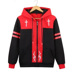 2019 Fate Grand Order Shirou Kotomine Hooded Hoodie Cosplay Costume Apocrypha Amakusa Shirou Tokisada Casual zipper Jacket Sweatshirt