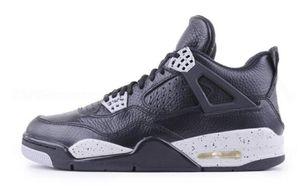 Hommes pas cher J4 Formateurs 4 IV chaussures de basket-ball 4s Denim Black Cat rouge feu Bred Oreo blanc formation Sneakers, achats en ligne magasins en vente