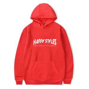 Camisola de algodão Harry Styles Hoodie Women / Men Moda Casual Tops Carta Hoodies Harry Styles Harajuku Hoodie Kpop Moletons