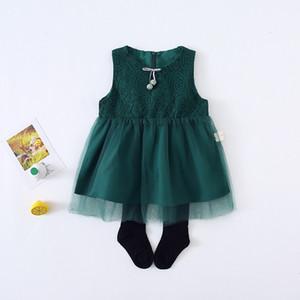 2019 estate nuova neonata femminile versione coreana della maglia ragazze estate vestito infantile principessa gonna