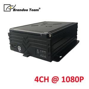 Auto-Video-Registrator Auto-DVR 4-Kanal-GPS-WIFI 1080P 4CH HDD MDVR Schulbus Taxi Anhänger LKW-Träger-Recorder Mobile DVR