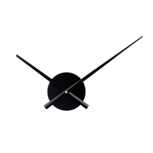 Kreative Wanduhr Zubehör DIY-Quarz-Taktgeber-Mechanismus Metall Clock Nadeln 3D Wanduhren Hauptdekoration Relogio De Parede