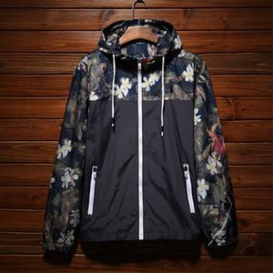 Markendesigner Herren Jacken Sommer Sonnenschutz Bekleidung Hochwertige dünne Windbreaker Outdoor Sport Camouflage Jacke Streetwear