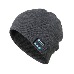 Wireless Bluetooth Headphones Music Hat Universal Smart Caps Winter Warm Beanies Knitted Hat With Speaker Mic For Outdoor Sports Other Hand