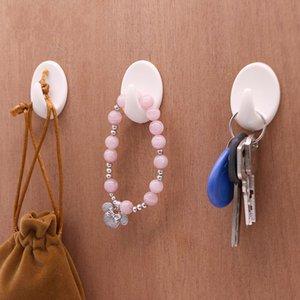Plastics Strength Sticking Hooks Heimtextilien Daily Necessities Hook Wiederverwendbare Heißer Verkauf Mit Weißer Farbe 0 18qy J1