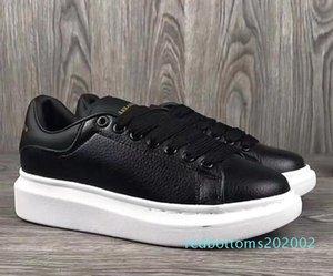 2020 del progettista di lusso degli uomini neri Pattini casuali delle donne delle scarpe da tennis casuali di cuoio degli uomini delle donne estremamente durevole stabilità Sneakers AG28