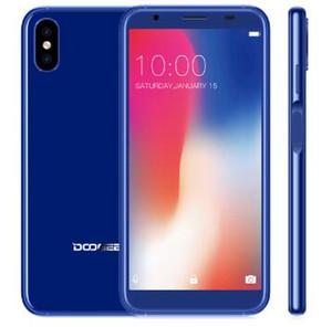 Doogee X55 Smartphone Pantalla MT6580 a 1,3 GHz 1 GB de 16GB Android 7.1 5,5 pulgadas 18: 9 HD MTKDual cámaras móviles Teléfono lado de la huella digital