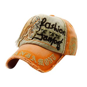Women Embroidered Flower Denim Cap Fashion Snapback Baseball Cap Topee Apparel Accessories czapka z daszkiem