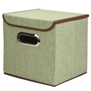 Neue Aufbewahrungsbox aus Baumwolle und Leinen Tragbare Aufbewahrungsbox aus Edelstahl für tragbare Kleidung Mini-Aufbewahrungsbox aus Vliesstoff