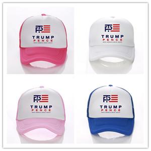 Donald Trump 2020 Top Caps Gömme Snapback Beyzbol Şapka Hip-Hop Punk Snapbacks ABD Beyzbol şapkası Harf Baskı Şapka 13 Renkler D3402 Caps