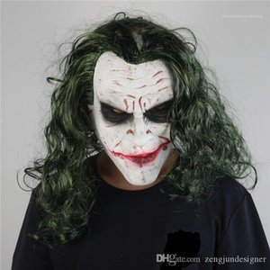 Filmes Designer Satars do carnaval do carnaval Casula Costume Acessórios Vestuário Joker Halloween Mask Festival Estilo Moda Homme Vestuário