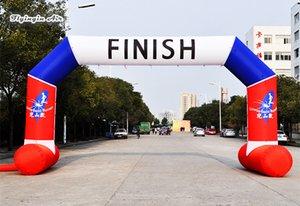 Personalizado raça running inflável Start / Finish Line Blow Up Esporte Entrance Door Frame Arch impressão No caso de Evento