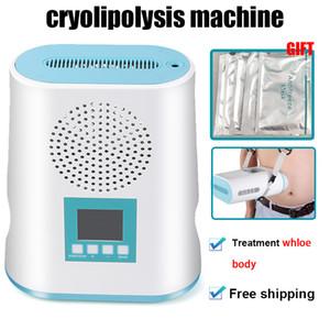 2020 máquinas MINI Cryolipolysis emagrecimento dispositivo de crioterapia Forma do Corpo de gordura Perda de peso da máquina congelamento para uso doméstico