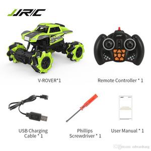 JJRC Q76 control remoto 12-forma generalizada Stunt Car, Paseo lateral, 360 ° Flip, 4WD a la deriva, música de baile, para Navidad del cumpleaños del niño Regalo del muchacho, 2-2
