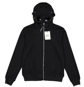 Giacca 19ss CP Mens Jacket Marca Felpe Zipper Windbreaker impresa Felpa uomo di lusso cappotti da sole Hood casual B101654Q WE