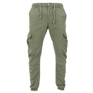 Mens Designer calças cargo Primavera Outono Casual Big Pocksets Calças Calças Jogger Calças Estilo UE Hommes Harajuku