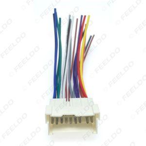 atacado 16pin Car Stereo OEM Áudio cablagem Adapter Para Hyundai / Kia (01 ~ 05) Instale Aftermarket CD / DVD Stereo #: 2053