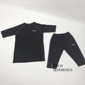 EMS Spor Eğitimi kas Simülasyon için Xbody Ems Eğitim Makine Suit Spor Kulübü Yoga Giyim Kablosuz