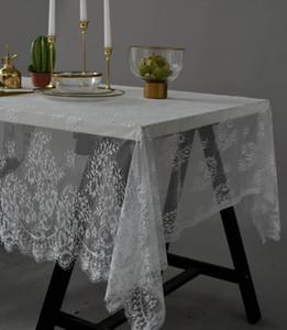 American Country tovaglia di pizzo nero bianco tavolino da tè tovagliolo di ciglia caffè table book fabbrica di tessuti di vendita diretta