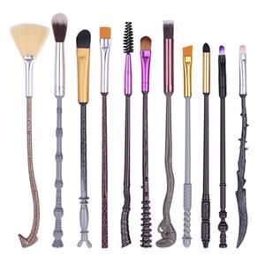 Top Qualität Severus Snape Metall Make-up Pinsel Schönheit Make-up Werkzeug Cosplay Spiel Sammlung Zauberstab Harry Potter