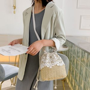 Women's Bags Female Fashion Straw Bag Trend Lace Crossbody Bags For Women 2020 Women Handbag Women's Shoulder Bag
