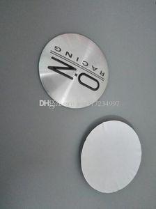 56.5mm 3D Araba Rozet Tekerlek Merkezi Jant Kapağı Sticker Dayanıklı Logo Marka Amblemi Araba Aksesuar Karşıtı Fade Tekerlek Dekorasyon Fit For OZ KIRMIZI / SİYAH