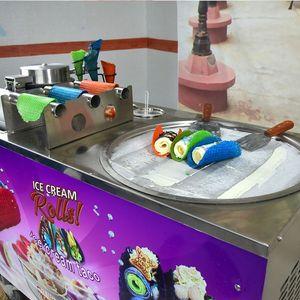 Kolice Taco máquina / máquina de helados fritos con el fabricante de tacos / frito máquina de helados / Cucina Pro Tortilla fabricante de la máquina de hielo rollo / crema