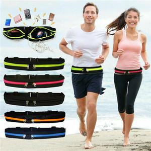 Sport Courir Waist Pack ceinture réglable Téléphone mobile Sac maintien pour iPhone 8 x 7 6s 6 5s 5 Samsung HTC LG