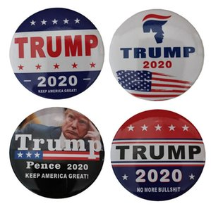 Trump 2020 broche presidente Campanha Broochs Donald Trump Dome lapela Emblemas Keep America Great 4 Designs DW4815