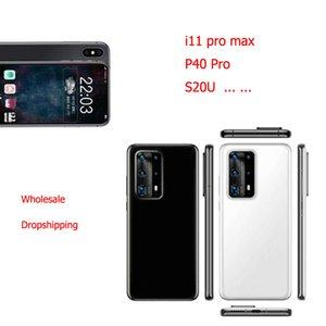 Goophone 11 Pro Max 11 20U P40 Pro P30 Pro 1GB 16GB Karte mit 512 GB 5G WCDMA GPS Bluetooth Android setzte Handy-Großhandelsdropshipping