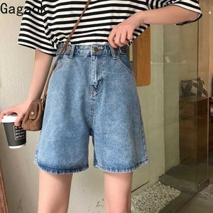 Gagaok 2020 Casual donna breve Primavera Autunno Nuovo Solid Alta Slim casuale semplice Harajuku moda femminile coreano Shorts