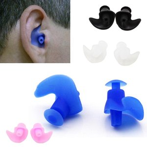 1 Pair Silicone swimming earplugs waterproof Soft Ear Plugs anti-noise Dust-Proof Diving Water Sports Swimming Accessories