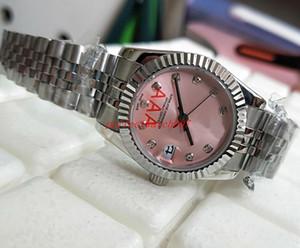 Assista Classic Series Fen-nom-e-nal Watches178274 116231 Pink Diamond Diamond Watch de alta qualidade Assista Mulheres senhoras 31 milímetros Mulheres do Automatic