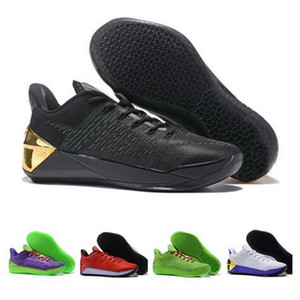12 A.D EP XII Black Mamba All Black Discount Basketball Shoes 2020 cheap sports yakuda Training Sneakers wholesale Discount Designer boot