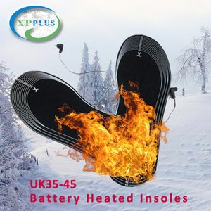 1706 (hs) Elektrik Isıtmalı Tabanlık Kış Erkekler Kadınlar Isıtmalı Ayakkabı ekler Karbon Elyaf Elektrikli Isıtmalı Tabanlık Pil Kayak Boots Ayak Pedleri Çorap