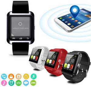 جديد أنيق U8 بلوتوث الذكية ووتش للحصول على IOS الروبوت الساعات ارتداء ساعة لبس جهاز ساعة ذكية PK سهلة ملابس