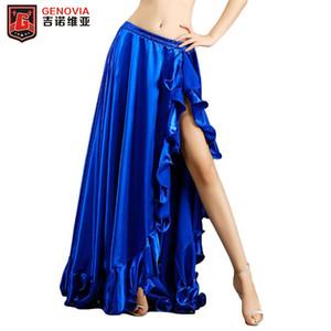 Femmes Sexy Belly Dance Costume Costume Jupe Dame Haute Qualité Costume De Danse Costume De Danse Jupe Danse Stage Jupes Couleurs 5