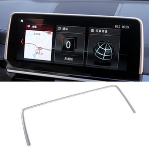 Arredamento Accessori Auto GPS copertura dello schermo di navigazione di struttura dell'esposizione Sticker rivestimenti interni per BMW X3 G01 G02 X4 2018 2019 2020