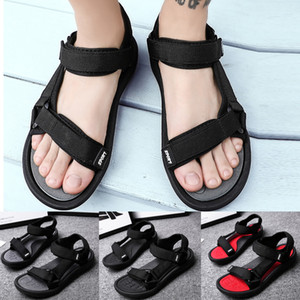 Summer Soft Big Size Sandals Comfortable Summer Outdoor Men Flats Casual Beach Athletic Shoes Breathable Sport Sandals #G4