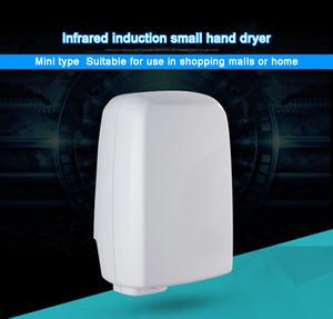 DMWD Otel Elektrikli sensör jet el kurutma makinesi, otomatik eller İndüksiyon el kurutma cihazı Banyo Sıcak hava rüzgar Fan AB ABD'yi kurutucular