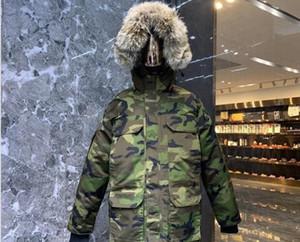 Yeni Stil Relaxed Üst Kalite Kanada Tasarımcı Ceket PBI Sefer Parka FUSION FIT Erkekler Palto Aşağı Parkas