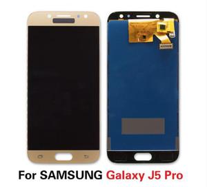 Samsung J5 Pro 2017 J530 J530F J530M Görüntü 3D Dokunmatik Ekran Değiştirme Sayısallaştırıcı Pantalla LCD J530 için Pantalla Ayarlanabilir LCD