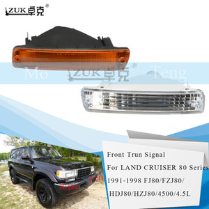 Zuk Front Bumper Turn Signal Lamp For TOYOTA LAND CRUISER 80 Series 1992-1998 LC80 FJ80 FZJ80 HDJ80 HZJ80 4500 4.5 L