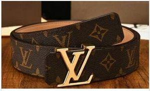 Hot selling Smooth buckle belts for men designer belts men high quality leather luxury belt men Free shipping