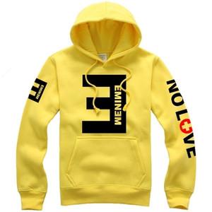 Eminem Lettre Imprimer Mode Femmes Hommes Style de manches longues à capuche capuche Hip Hop Bboy unisexe Autumn Wind Coat SportWear TracksuitMX190902