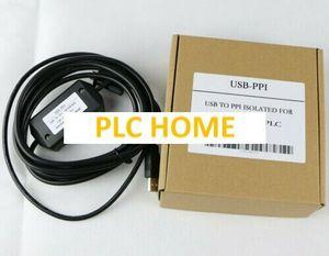 Новый USB-PPI PLC кабель USB-RS485 адаптер для Siemens S7-200 программатор кабель*