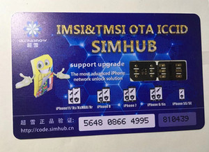 Livre DHL Original Chinasnow Heicardsim MIX V1.38 para IP6-XR 11Pro com ICCID IMSI TMSI Modo Unlock Sim Card Turbo SIM Gevey Pro