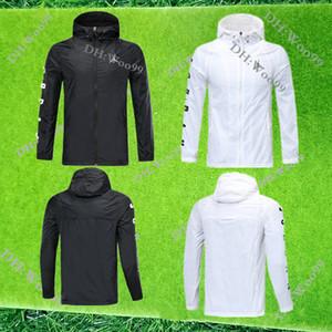 19 20 Jordam Tam rüzgarlık Kapüşonlular eşofman 2019 2020 Verratti JD Survetement MBAPPE uzun kollu ceket futbol formaları zip